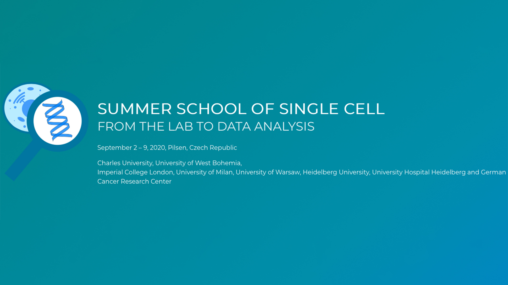 4EU+ Summer school of Single cell – From lab to data analysis