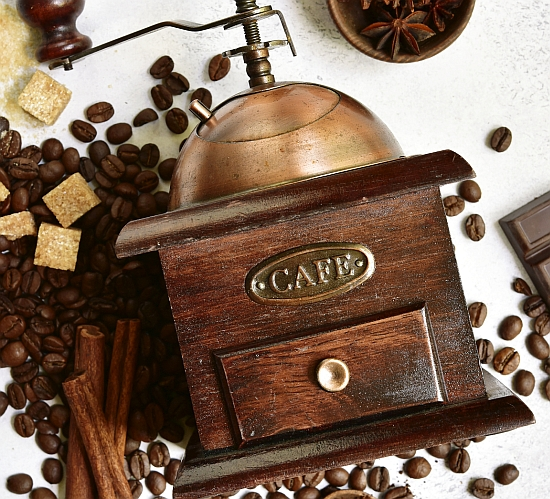 Grinding your way to success: in Central Europe, coffee was king. Photo: Thinkstock